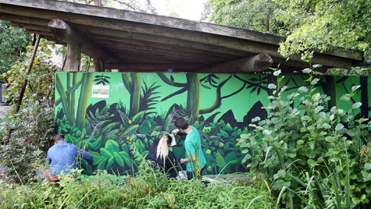 Kinder und Jugendliche entdecken Kunst und die eigene Kreativität